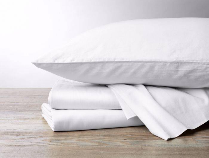 Sateen Sheet Set- Alpine White, Queen