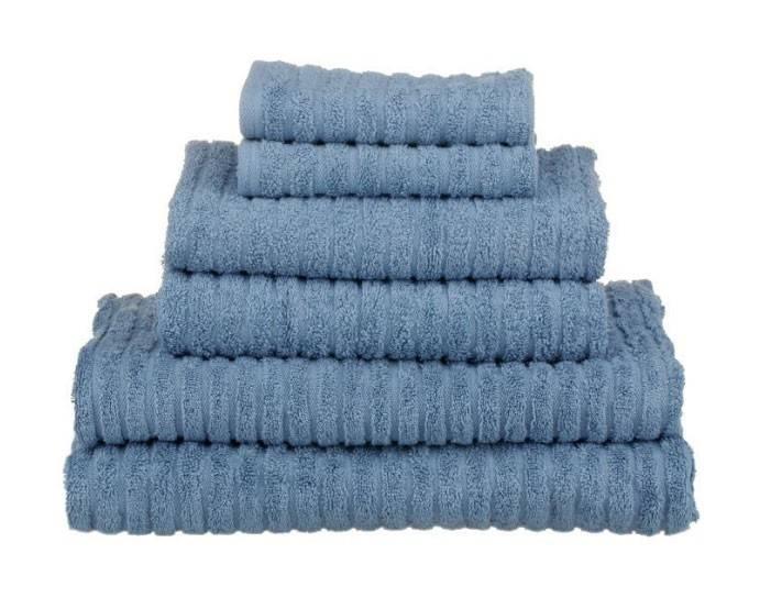 Glo Hand Towel, Faded Denim