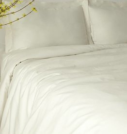 Glo Sateen Sheets (Natural), Queen Flat