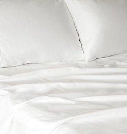 Glo Percale Sheets (White), King Pillowcase