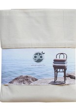 Glo Percale Sheets (Natural), Queen Flat