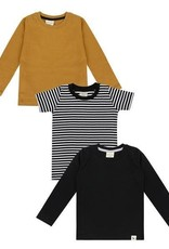 Turtledove London Layering Top Set- Stripe, Honeycomb, Black