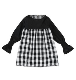 Turtledove London Checked Reversible Dress
