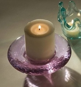 Footed Candle Stand