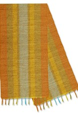 Vetiver Table Linens- Fiesta Citrus Stripe