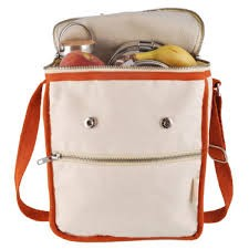 Eco Natural Exchange Wool Insulated Organic Cotton Lunch Bag