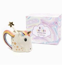 Two's Company Unicorn Mug