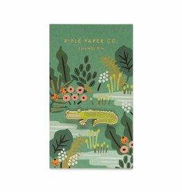 Rifle Paper Co. Alligator Enamel Pin