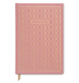 "Designworks Ink ""Pretty Thoughts"" Cross Stitch Journal, Pink"