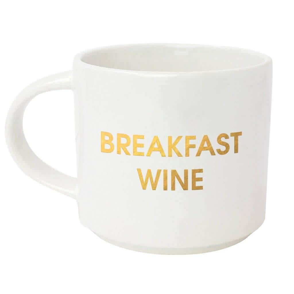 Chez Gagne Letterpress Breakfast Wine Mug