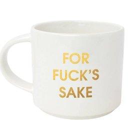 Chez Gagne Letterpress For Fuck's Sake Mug