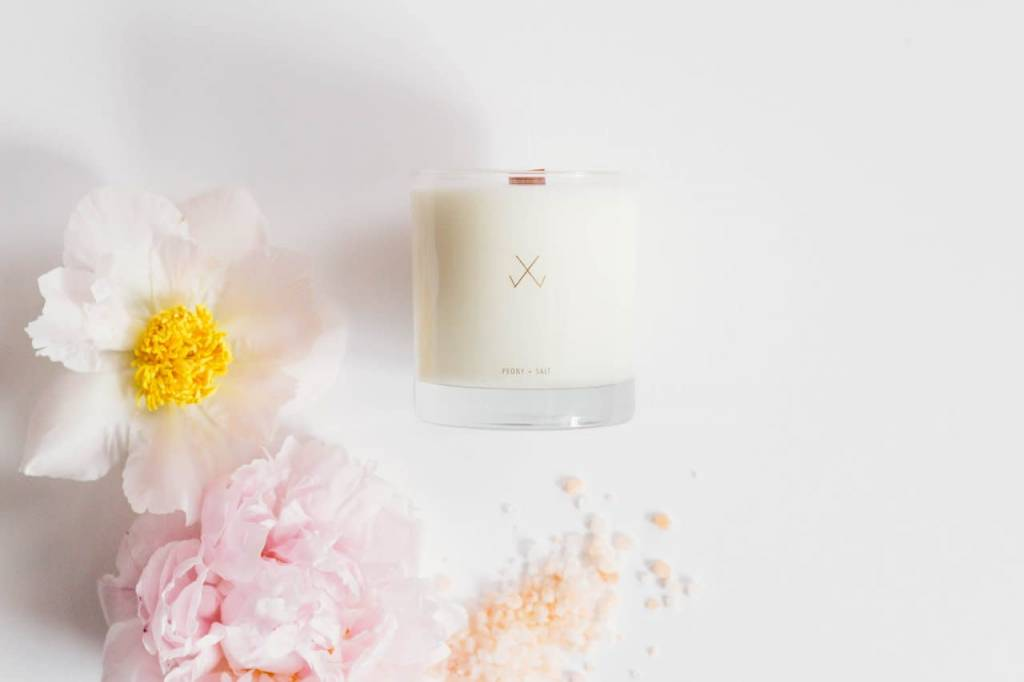 Simple Curated Peony + Salt, Simple Collection