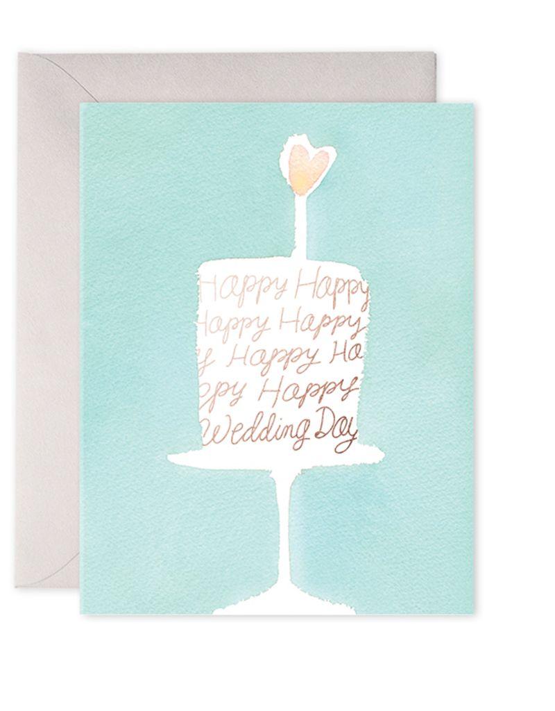 E. Frances Paper Studio Wedding Cake