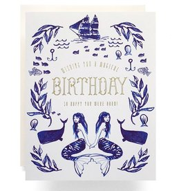 Antiquaria Design Studio Mermaid Birthday
