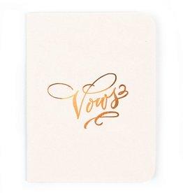 Antiquaria Design Studio Vows Notebook