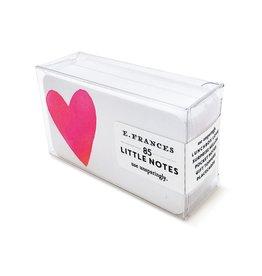 E. Frances Paper Studio Big Heart Little Notes