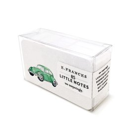 E. Frances Paper Studio Green Buggy Little Notes