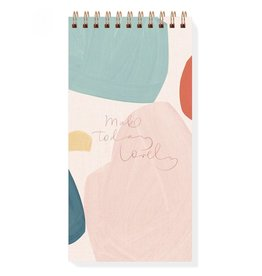 Fringe Studio Canvas Shape Spiral Notepad