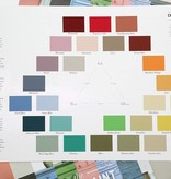 Chalk Paint Color Card Folder