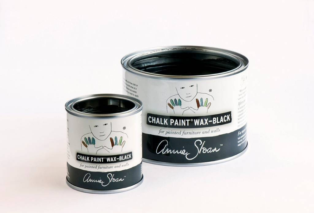 Annie Sloan Black Wax Tin