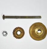 Knobs- Brass Antiqued
