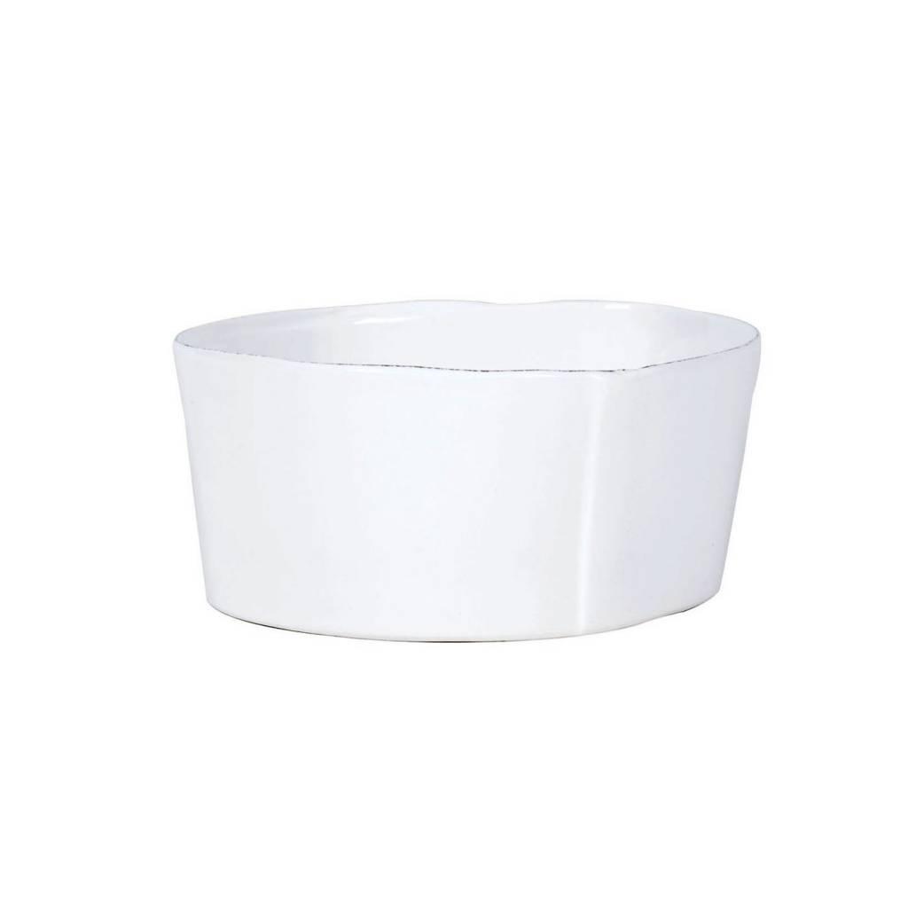 Lastra White Cereal Bowl