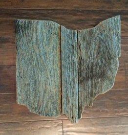 Sm Ohio Reclaimed Barn Wood Wall Art