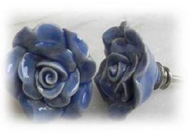 knob blue rose