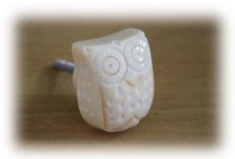 knob cream owl