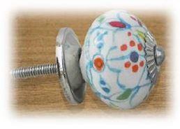 knob mixed floral
