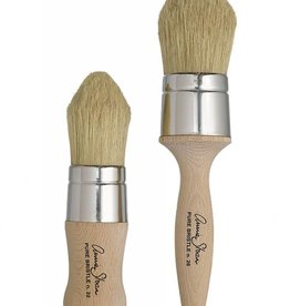 Sm Pointed Dark Wax Brush