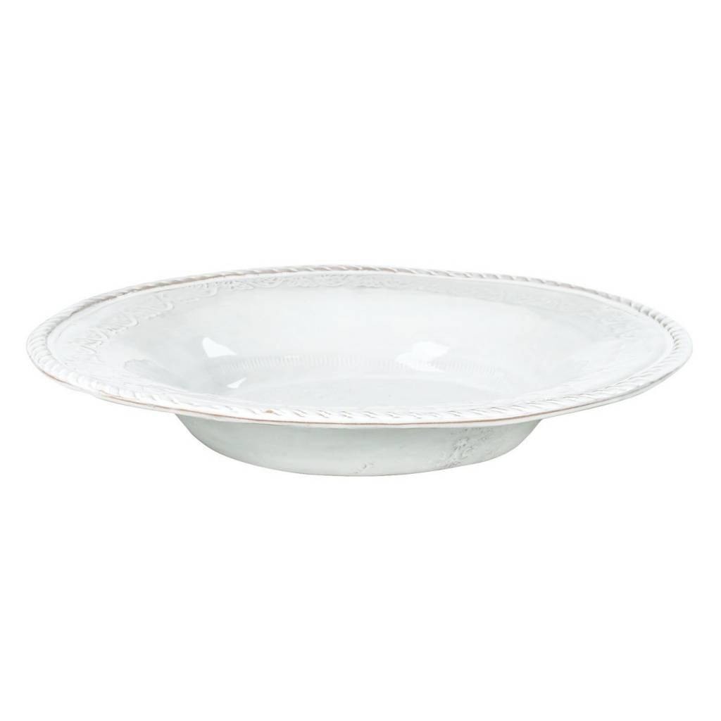 Bellezza wht pasta/soup bowl