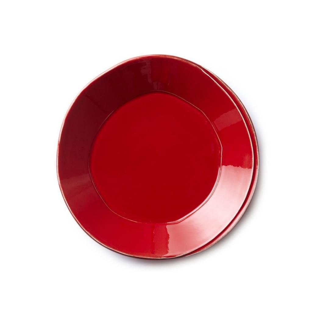 Lastra Red Pasta Bowl