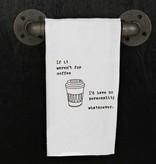 Quotes Flour Sack Towel