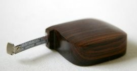Rosewood Tape Measure