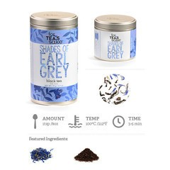 Shades of Earl Grey Tea