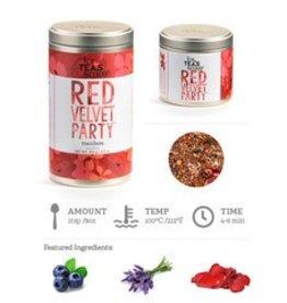 Red Velvet Party Tea