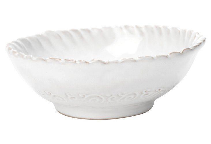 Bellezza White Condiment Bowl