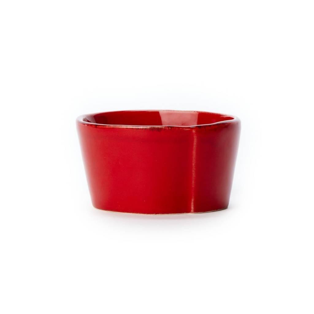 Lastra Red Condiment Bowl