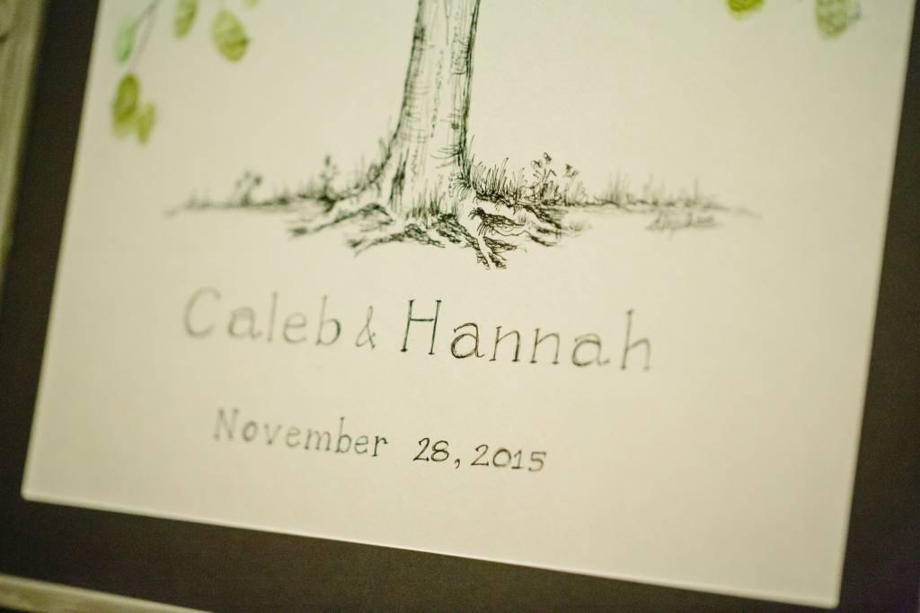 Sm Thumbprint Tree Print