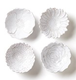 Bellezza Bloom Assorted White Flower Small Bowls