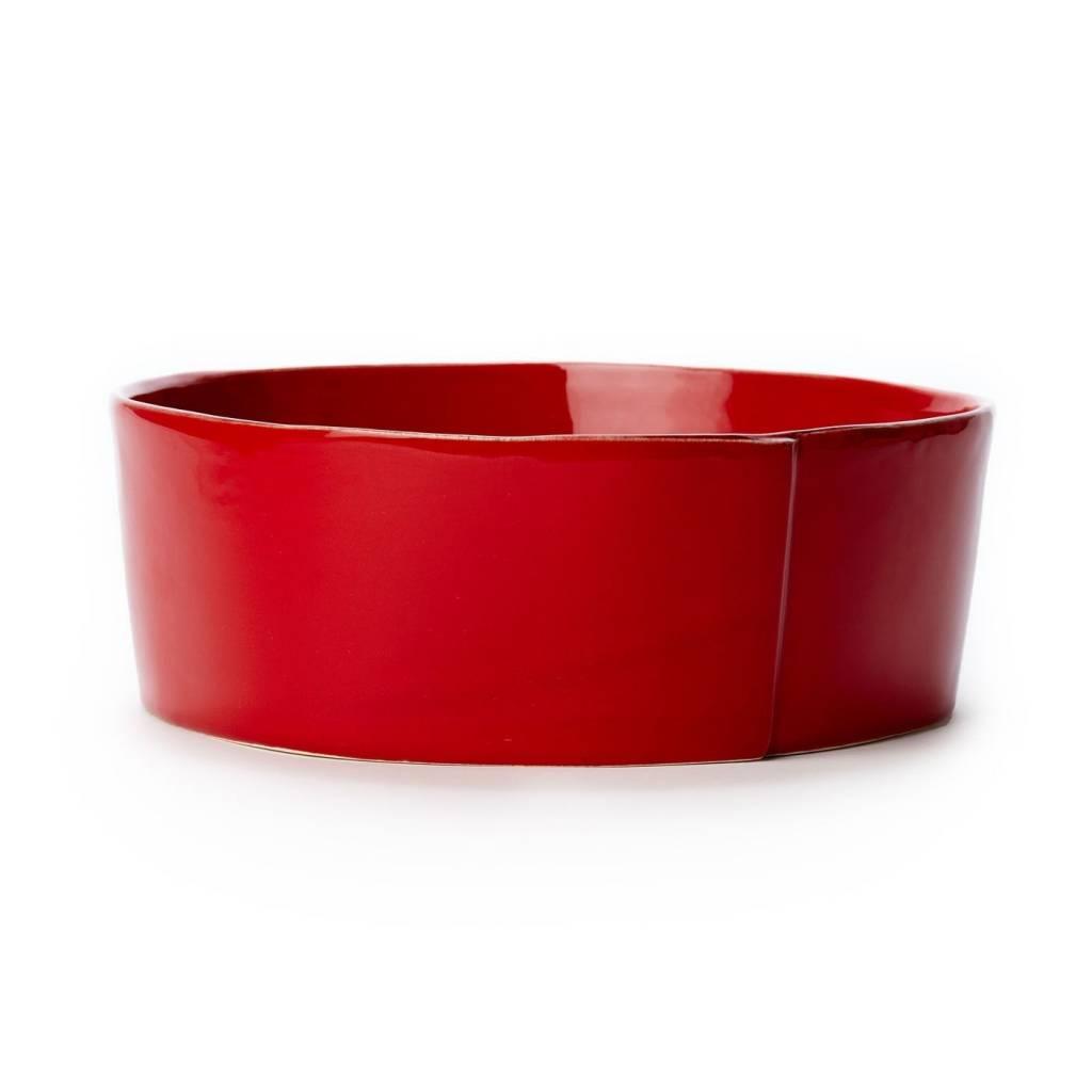 Lastra Red Lg Serv Bowl