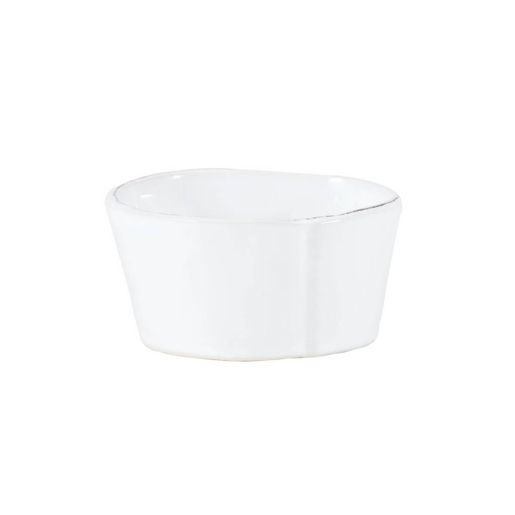 Lastra Wht Condiment Bowl