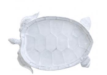 Incanto Mare White Turtle Salad Plate