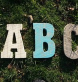Reclaimed Barn Wood Letter