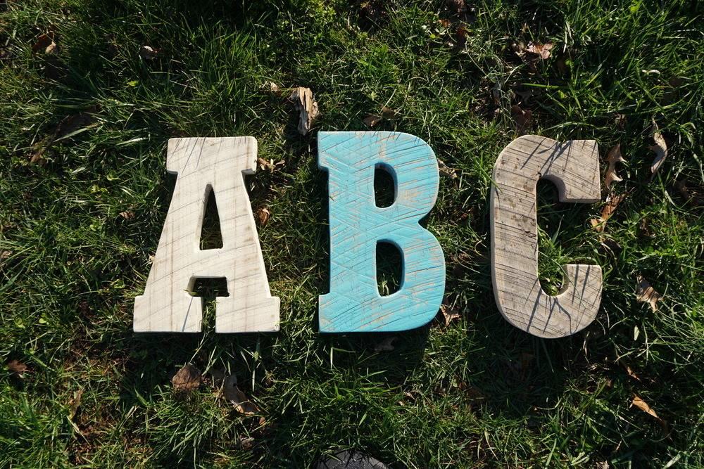 Reclaimed Barn Wood Letter