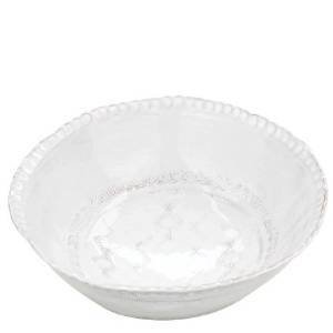Bellezza Wht Med Serving Bowl