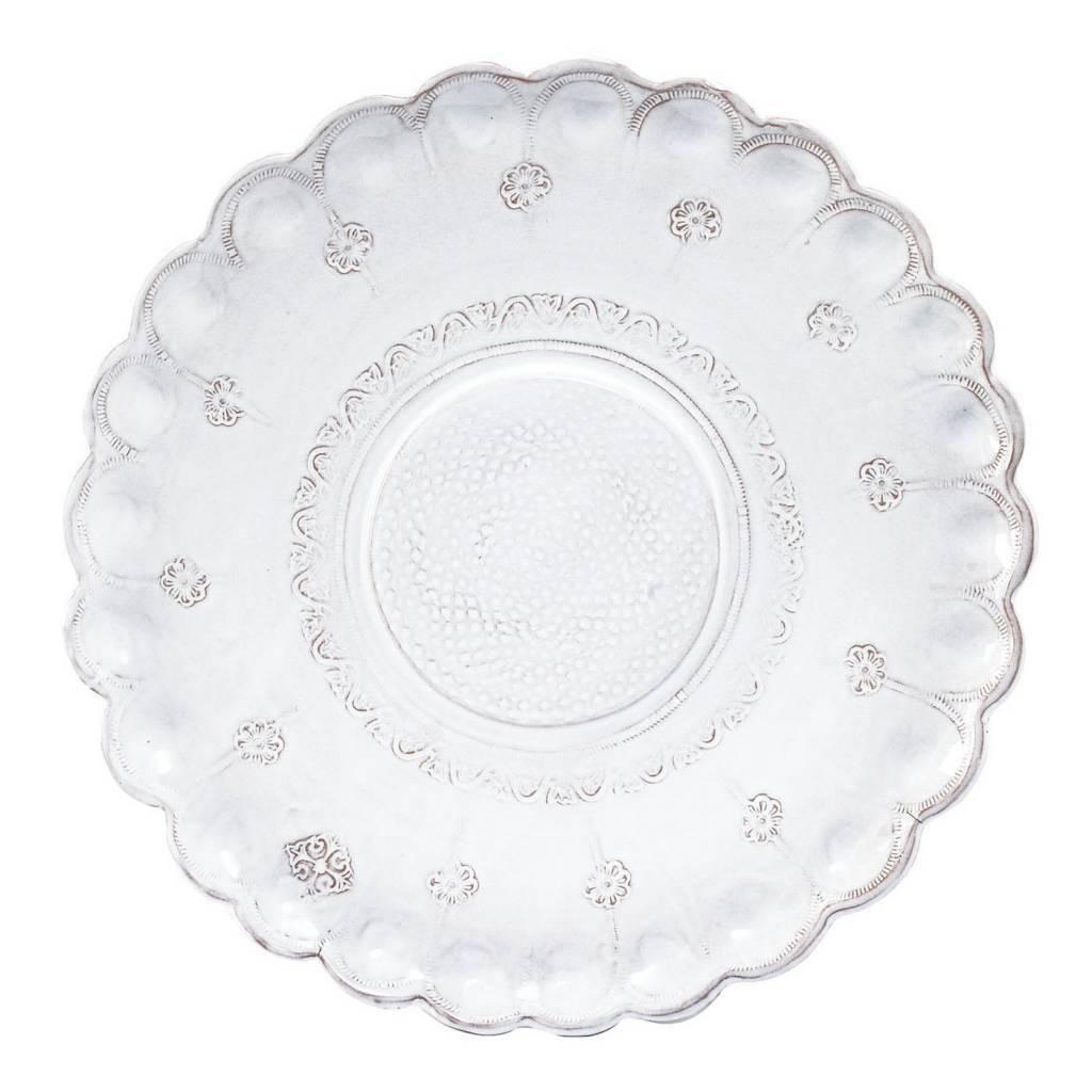 Bellezza Wht Med Wall Platter