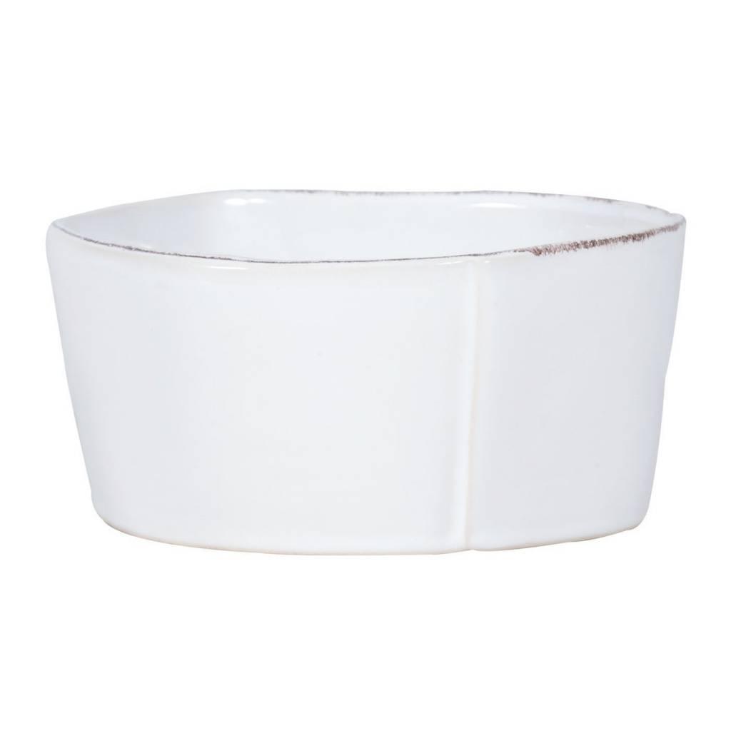 Lastra White Med Serv Bowl