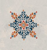 Moroccan Embroidered Star Stencil